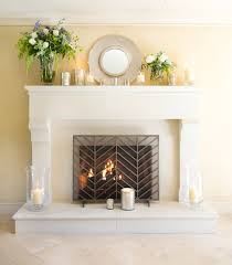 beauteous 60 fireplace display decorating inspiration of best 20