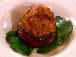 pork and pancetta stuffed mushrooms recipe burrell food