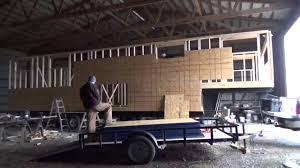 s1e0 sheathing time lapse the not so tiny tiny house on wheels
