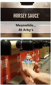 Arbys Meme - dashie sauce by captainpudgemuffin arby s know your meme