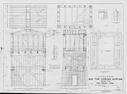 Roundhouse Floor Plan by Scanned Drawings Index