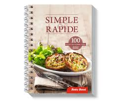livres cuisine le livre cuisine simple rapide betty bossi 27089 betty bossi