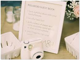 poloroid guest book wedding guestbook alternatives 1928 planning co