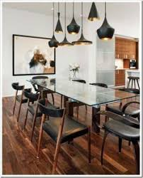 Dining Room Glass Tables Black And White Dining Table With Glass Top Ideas For The House