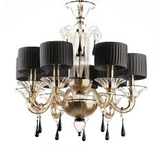 Black Chandelier With Shades Sheer Serendipity Diy Drum Shade Chandelier Gold Chandelier