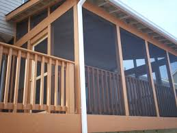 screened porch screen porch and deck in st louis st louis decks screened