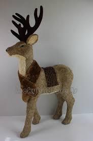 2015 deer decoration straw deer
