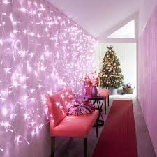 192 led pink curtain light low voltage 2m x 2m lights4fun co uk
