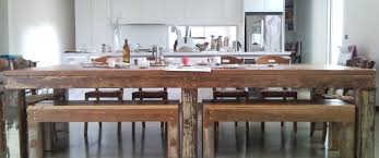 Reclaimed Timber Dining Table Recycled Furniture Melbourne