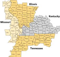 map of ky and surrounding areas aims target area