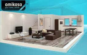 decorate your home online interior design the phenomenal blue tool brown sofa white shelf
