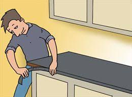 recouvrir plan de travail cuisine plan de travail dans une cuisine gamma be