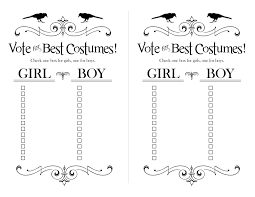 Halloween Party Ideas For Classroom Classroom Best Costume Ballots For Halloween Halloween