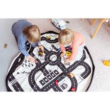 Kids Play Rugs With Roads by Roadmap Play U0026 Go U2013 Timeless Baby