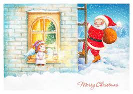 new year post card new year postcard 1 olya badulina children s illustrator