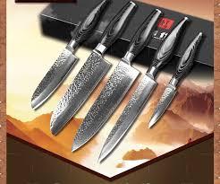 high end kitchen knives xinzuo kitchen knife set 73 layer damascus kitchen knife japanese
