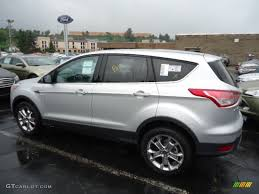 Ford Escape 2013 - ingot silver metallic 2013 ford escape sel 1 6l ecoboost 4wd
