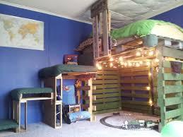 Homemade Loft Bed Best 25 Pallet Loft Bed Ideas On Pinterest Loft Bed Desk