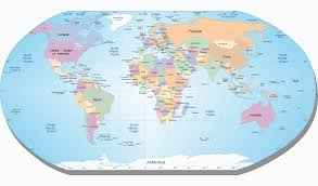 Seven Continents Map Inspire Maps