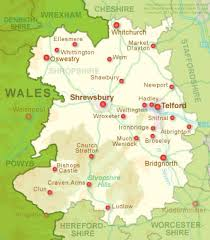 map uk villages oswestry tourist information on the towns and villages in shropshire