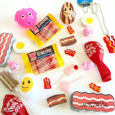 themed pinata bacon themed birthday party happiness is