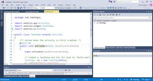 build your android applications in visual studio using gradle