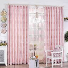 girl bedroom curtains adorable girl bedroom heart printing pink wide window curtains