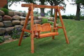 fresh free standing porch swing frame 7191