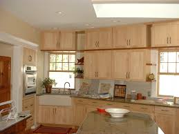 Maple Wood Kitchen Cabinets Natural Maple Shaker Cabinets Kitchen Remodeling Nj Nyc Kitchen