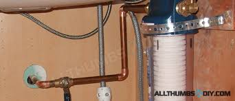 water filter for kitchen faucet how i installed high flow under sink water filter filtration