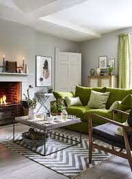 how to perfectly bring the pantone colour of the year greenery keswick sofa dfs green living room