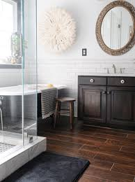 wood tile bathroom i woodworking