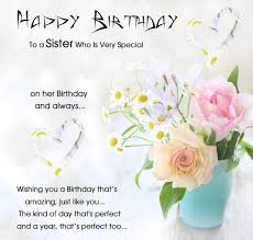 birthday cards for sister birthday greeting cards for sister