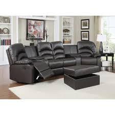 home theater sectional sofa set esofastore casual modern brown home theater sectional sofa set