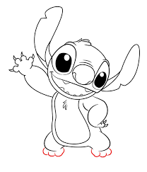 how to draw stitch from lilo and stitch stitch drawings and