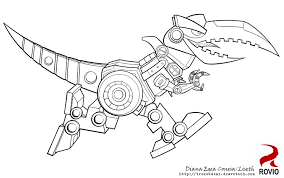 angry bird transformer coloring pages coloring pages