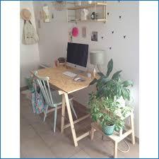 bureau avec treteau inspirant bureau avec tréteaux photos de bureau décor 13637