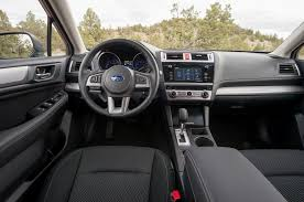 subaru xv interior 2016 2015 subaru outback first drive motor trend