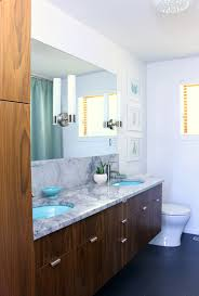 mid century modern bathroom design a mid century modern inspired bathroom renovation before after