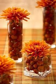 centro de mesa para decorar en otoño thanksgiving holidays and