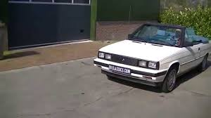 1984 renault alliance renault alliance 1985 video www erclassics com youtube