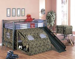 bunk bed with army style idea for boys bedroom unique bunk beds