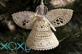 buy lace tree ornament on livemaster shop
