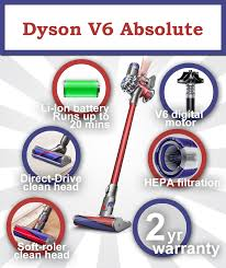 Dyson Vaccum Reviews Dyson V6 Absolute Review Towards The Cordless Vacuum Era