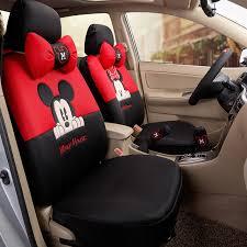 housse pour siege voiture pas cher car styling noir beige mickey minnie souris housses de siège
