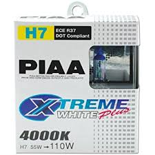 le h7 55w piaa 13507 h7 ion yellow performance bulb pack of 2
