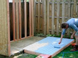Plans To Build A Firewood Shed by How To Build A Storage Shed For Garden Tools Hgtv