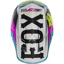 helmet motocross fox 2017 v2 rohr ece helmet teal online motorcycle accessories