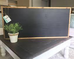 Large Decorative Chalkboard Large Chalkboards Etsy