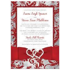 wedding invitations glitter wedding invitation photo optional winter faux